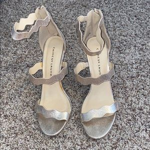 Chinese Laundry Gold Heels